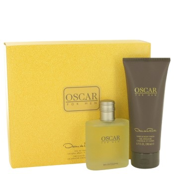 Oscar by Oscar De La Renta for Men Set Includes: Eau de Toilette Spray 3.4 oz + Hair & Body Wash Gel 6.7 oz