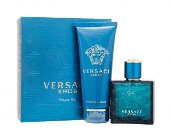 Versace Eros Men by Versace for Men Set Includes: Eau de Toilette Spray 1.7 oz + Shower Gel 3.4 oz