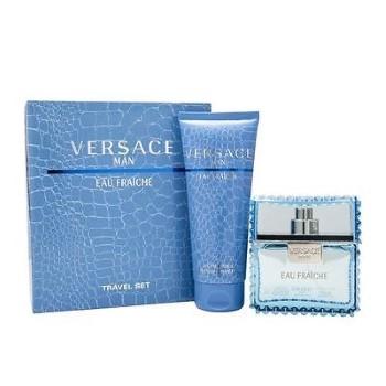 Versace Man Eau Fraiche by Versace for Men Set Includes: Eau de Toilette Spray 1.7 oz + Shower Gel 3.4 oz
