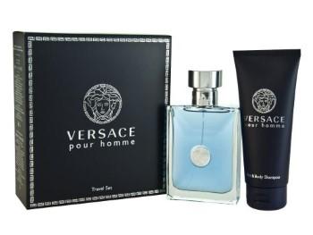 Versace Signature by Versace for Men Set Includes: Eau de Toilette Spray 3.3 oz + Hair & Body Shampoo 3.4 oz