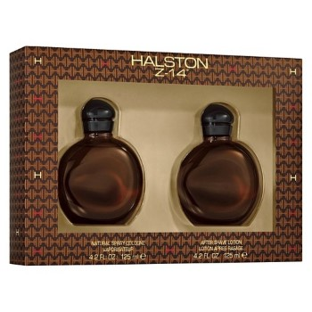 Z14 by Halston for Men Set Includes: Cologne Spray 4.2 oz + After Shave Lotion 4.2 oz