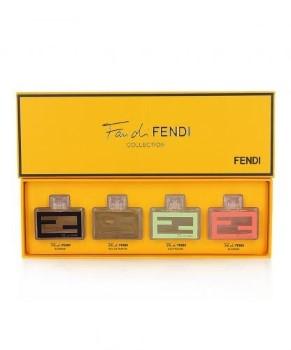 Fan Di Fendi by Fendi for Women MINI Set Includes: Fan Di Fendi Extreme Eau de Parfum Mini 0.13 oz + Fan Di Fendi Eau de Parfum Mini 0.13 oz + Fan Di Fendi Eau de Toilette Eau Fraiche Mini 0.13 oz + Fan Di Fendi Blossom Eau de Toilette Mini 0.13 oz