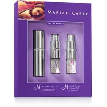 Mariah Carey by Mariah Carey for Women MINI Set Includes: M Eau de Parfum Spray Refillable 0.28 oz + M Eau de Parfum Spray Refill 0.28 oz + Luscious Pink Eau de Parfum Spray Refill 0.28 oz