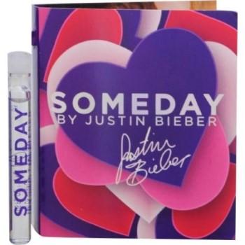 Someday by Justin Bieber Eau de Parfum Spray Vial 0.05 oz for Women