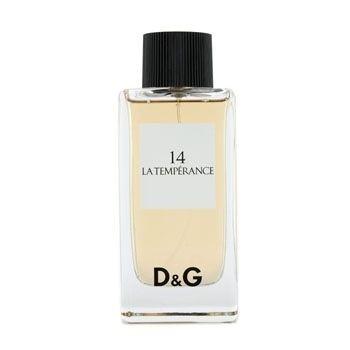 D&G 14 La Temperance by Dolce & Gabbana Eau de Toilette Spray UNBOXED 3.4 oz for Women