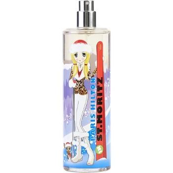 Passport St Moritz by Paris Hilton Eau de Toilette Spray TESTER 3.4 oz for Women