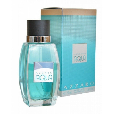 Azzaro Aqua by Azzaro for Men Eau de Toilette Spray 2.6 oz