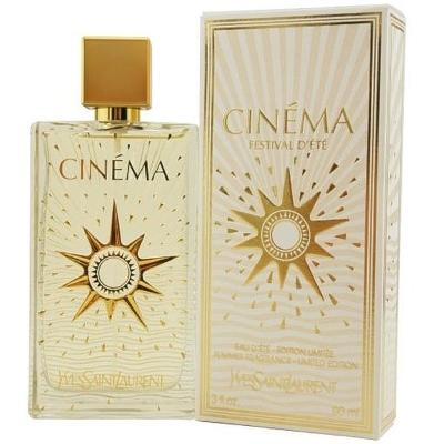Cinema Festival D'ete Summer by Yves Saint Laurent for Women Eau de Toilette Spray 3.0 oz (2007 Edition)
