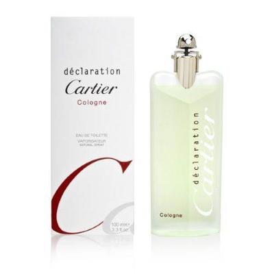 Declaration Cologne by Cartier for Men Eau de Toilette Spray 3.3 oz