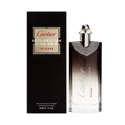 Declaration D'un Soir Intense by Cartier for Men Eau de Toilette Spray 3.3 oz