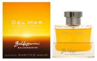 Del Mar Marbella by Hugo Boss for Men Eau de Toilette Spray 1.7 oz