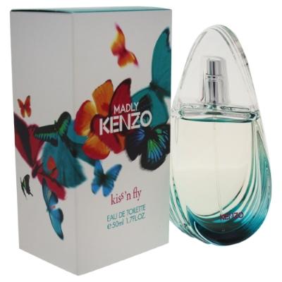Madly Kenzo Kiss 'N Fly by Kenzo for Women Eau de Toilette Spray 1.7 oz