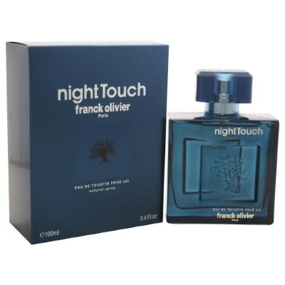 Night Touch by Franck Olivier for Men Eau de Toilette Spray 3.4 oz