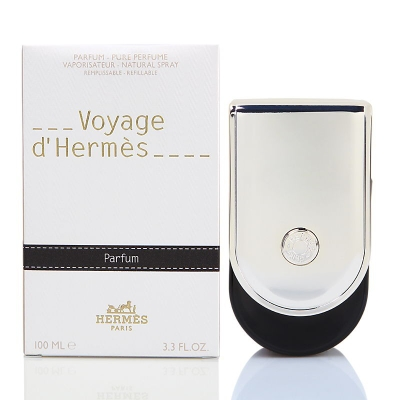 Voyage d'Hermes by Hermes for Men & Women Parfum Spray 3.3 oz Refillable