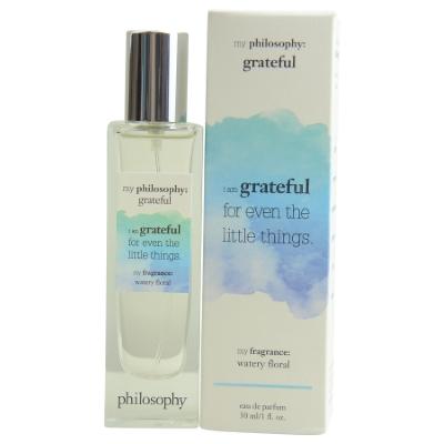 Philosophy Grateful by Philosophy for Women Eau de Parfum Spray 1.0 oz