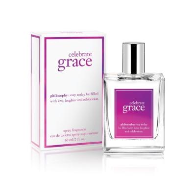 Philosophy Celebrate Grace by Philosophy for Women Eau de Toilette Spray 2.0 oz